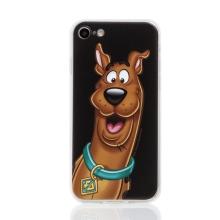 Kryt Scooby Doo pro Apple iPhone 7 / 8 / SE (2020) - gumový - černý