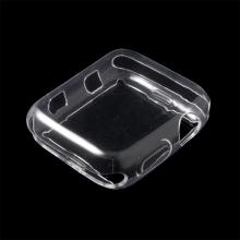 Kryt / pouzdro pro Apple Watch 42mm series 1 / 2 / 3 - gumový - průhledný