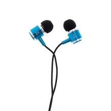 Sluchátka JMF pro Apple iPhone / iPad / iPod a další zařízení - modrá
