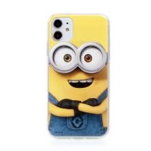 Kryt MIMONI pro Apple iPhone 11 - smějící se mimoň - žlutý