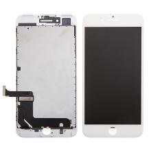 LCD panel + dotykové sklo (touch screen digitizér) pro Apple iPhone 7 Plus - bílý - kvalita A+