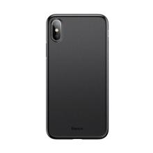 Kryt BASEUS pro Apple iPhone Xs - ultratenký - plastový - černý