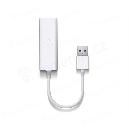 Originální Apple USB Ethernet Adapter - bílý