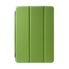 Pouzdro pro Apple iPad mini 1 / 2 / 3 - stojánek + chytré uspání - umělá kůže - fialové