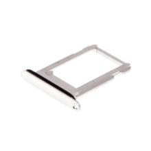 Rámeček / šuplík na Nano SIM pro Apple iPhone X - bílý (White) - kvalita A+