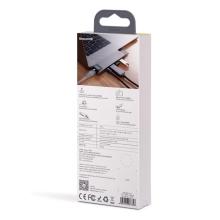 Dokovací stanice / port replikátor BASEUS pro Apple MacBook Pro - 2x USB-C na HDMI, 2x USB-A, ethernet