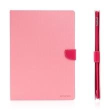 Pouzdro MERCURY Fancy Diary pro Apple iPad Pro 12,9 - stojánek a prostor na doklady - růžové