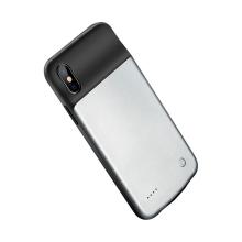 Externí baterie / kryt BENKS pro Apple iPhone X / Xs - 3200 mAh - černá / šedá