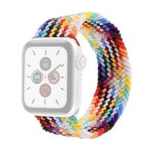 Řemínek pro Apple Watch 45mm / 44mm / 42mm - bez spony - nylonový - velikost L - barevný