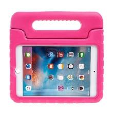 Pěnové pouzdro pro děti na Apple iPad mini 4 s rukojetí / stojánkem - růžové