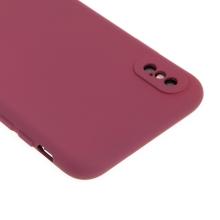 Kryt pro Apple iPhone Xs Max - příjemný na dotek - silikonový