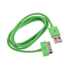 Synchronizační a dobíjecí USB kabel pro Apple iPhone / iPad / iPod – 1m oranžový