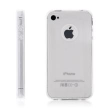 Kryt pro Apple iPhone 4 / 4S - gumový - průhledný