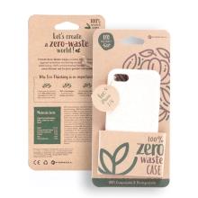 Kryt FORCELL BIO - pro Apple iPhone 7 / 8 - Zero Waste kompostovatelný kryt - přírodní