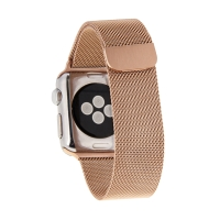 Řemínek pro Apple Watch 44mm Series 4 / 42mm 1 2 3- magnetický - nerez
