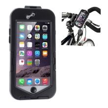 Pouzdro pro Apple iPhone 6 / 6S - držák na kolo - plastové - černé