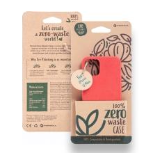 Kryt FORCELL BIO - pro Apple iPhone 12 mini - Zero Waste kompostovatelný kryt - červený