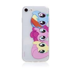 Kryt pro Apple iPhone 7 / 8 / SE (2020) - Můj malý Pony - gumový - průhledný