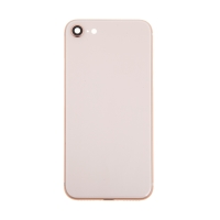 Zadní kryt / sklo pro Apple iPhone 8 - náhradní - bez loga - Gold zlatý