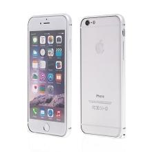 Tenký hliníkový rámeček / bumper LOVE MEI pro Apple iPhone 6 - stříbrný