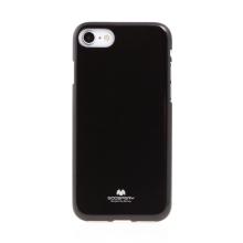 Kryt MERCURY Jelly pro Apple iPhone 7 / 8 / SE (2020) - gumový - černý