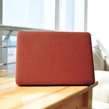 Ochranný plastový obal ZVE pro Apple MacBook Air 13.3 - povrchová úprava - umělá kůže