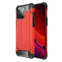Kryt pro Apple iPhone 13 Pro Max - odolný - plastový / gumový - červený