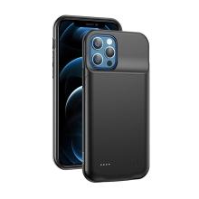 Externí baterie / kryt USAMS pro Apple iPhone 12 Pro Max - 4500 mAh - černá