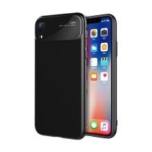Kryt pro Apple iPhone Xr - plastový / skleněná čočka - Jet Black černý