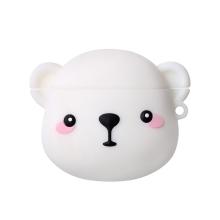 Pouzdro / obal pro Apple AirPods - silikonové - lední medvěd