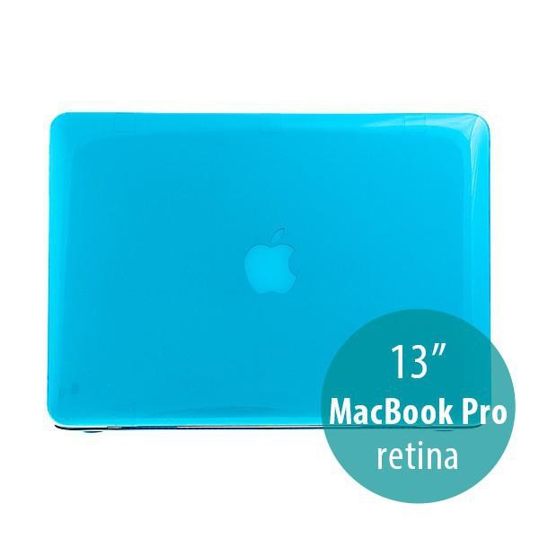 Tenký ochranný plastový obal pro Apple MacBook Pro 13 Retina (model A1425, A1502) - lesklý - modrý