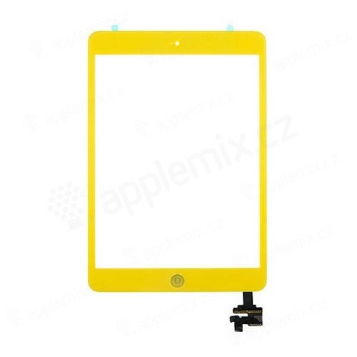 Dotykové sklo (touch screen digi) + IC konektor a flex s Home Buttonem pro Apple iPad mini / mini 2 (Retina)