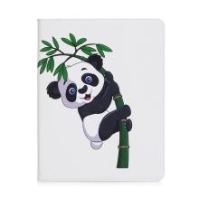 Pouzdro pro Apple iPad 2 / 3 / 4 - stojánek + prostor pro platební karty - panda na větvi