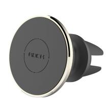 Držák ROCK magnetický 360° otočný na ventilační mřížku auta - zlatý