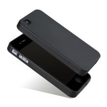 Kryt X-LEVEL pro Apple iPhone 4 / 4S - gumový - matný - černý