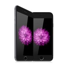 Tvrzené sklo (Tempered Glass) DEVIA pro Apple iPhone 6 Plus / 6S Plus - černý rámeček + zadní fólie - 0,26mm