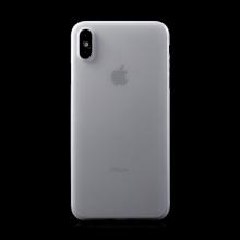 Kryt / obal pro Apple iPhone Xs Max - ochrana čočky - ultratenký - plastový - matný - bílý