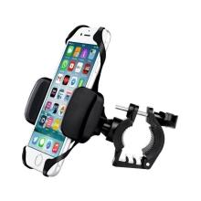 Držák na kolo SWISSTEN pro Apple iPhone - gumové jistění proti pádu - plastový - černý
