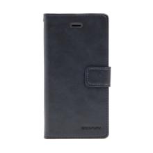 Pouzdro MERCURY Blue Moon Diary pro Apple iPhone 6 / 6S - umělá kůže - černé