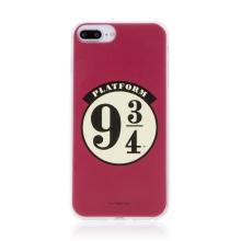 Kryt Harry Potter pro Apple iPhone 7 Plus / 8 Plus - gumový - nástupiště 9 a 3/4 - červený