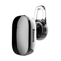 Handsfree BASEUS Earphone A02 - Bluetooth 4.1 - lesklé - černé