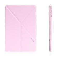 Elegantní pouzdro / kryt REMAX pro Apple iPad mini 4 - variabilní stojánek + funkce chytrého uspání - růžové