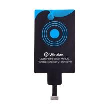 Podložka / přijímač pro bezdrátové nabíjení Qi YOGEE pro Apple iPhone s Lightning konektorem