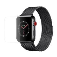 Tvrzené sklo (Tempered Glass) pro Apple Watch 38mm Series 3 - 2D okraj - čiré