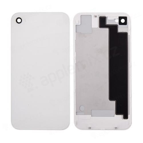 Náhradní zadní kryt (sklo) bez loga pro Apple iPhone 4S