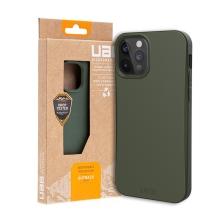Kryt UAG Outback pro Apple iPhone 12 / 12 Pro - kompostovatelný kryt - olivový