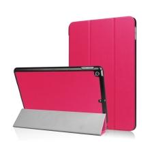 Pouzdro / kryt pro Apple iPad 9,7 (2017-2018) - funkce chytrého uspání + stojánek - tmavě růžové