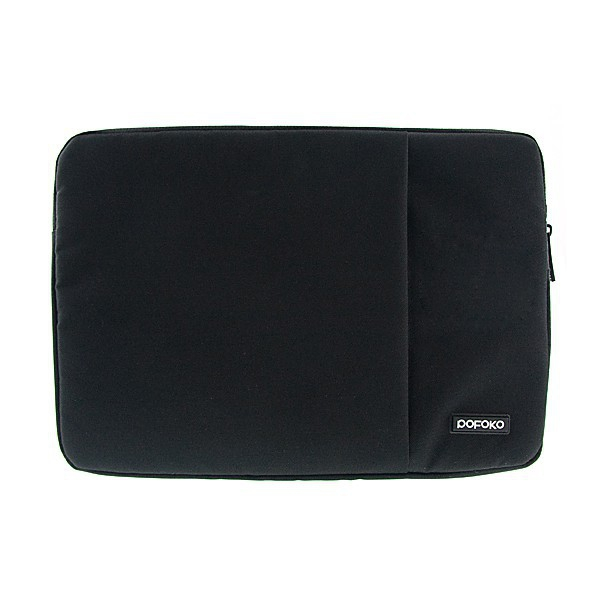 Pouzdro POFOKO se zipem pro Apple MacBook Air / Pro 13 - černé