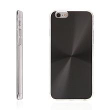 Plasto-hliníkový kryt pro Apple iPhone 6 / 6S - černý