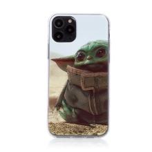 Kryt STAR WARS pro Apple iPhone 11 Pro - gumový - Mandalorian / Baby Yoda